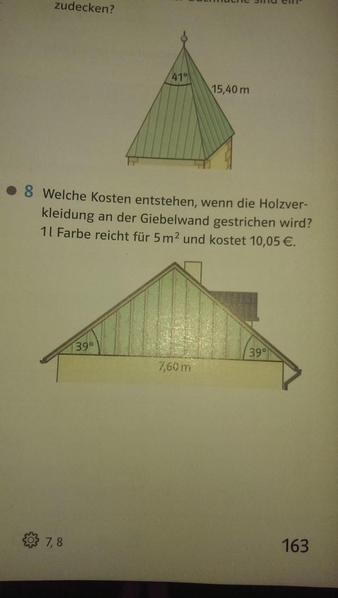 wie rechnet man die nummer 7 trigonometrie bsp. Black Bedroom Furniture Sets. Home Design Ideas