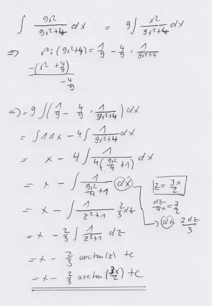 integral schriftlich berechnen mechanik