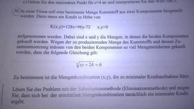 Substitutionsmethode Eliminiationsmethode Unabhängige Variable