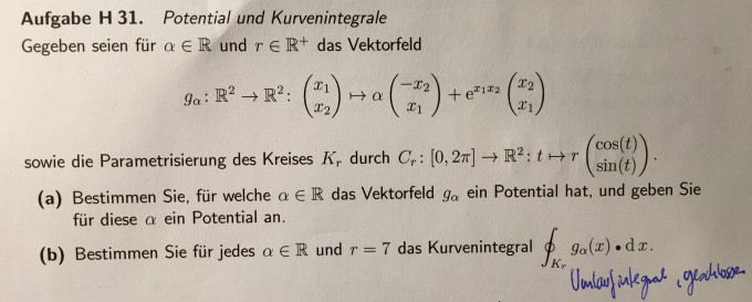 rotation eines vektorfeldes