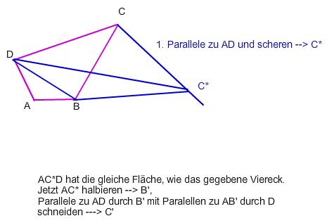 parallelogramm trigonometrie viereck in fl chengleiches parallelogramm verwandeln suche a. Black Bedroom Furniture Sets. Home Design Ideas