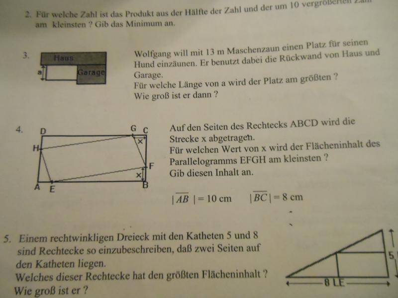 parabeln berechnen die scheitelpunkte zweier parabeln. Black Bedroom Furniture Sets. Home Design Ideas