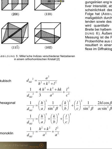gitterkonstante berechnen mathelounge