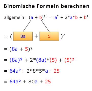 Binomische Formel Ausrechnen A 8a52 Mathelounge