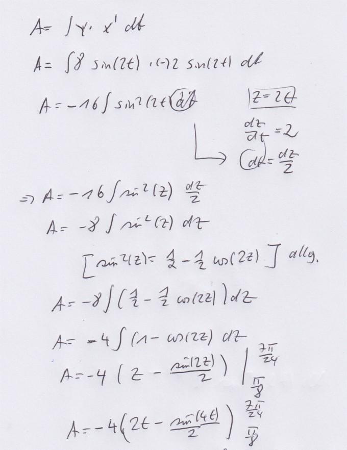 Flächenintegral Berechnen : fl chenintegral in parameterdarstellung berechnen ~ Themetempest.com Abrechnung