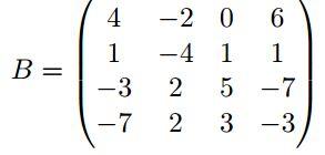 inverse matrix bestimmen a 1 mit den matrizen a und b. Black Bedroom Furniture Sets. Home Design Ideas