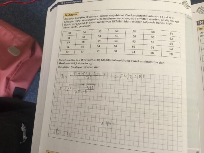 berechnen sie den mittelwert x die standardabweichung s und ermitteln sie den. Black Bedroom Furniture Sets. Home Design Ideas