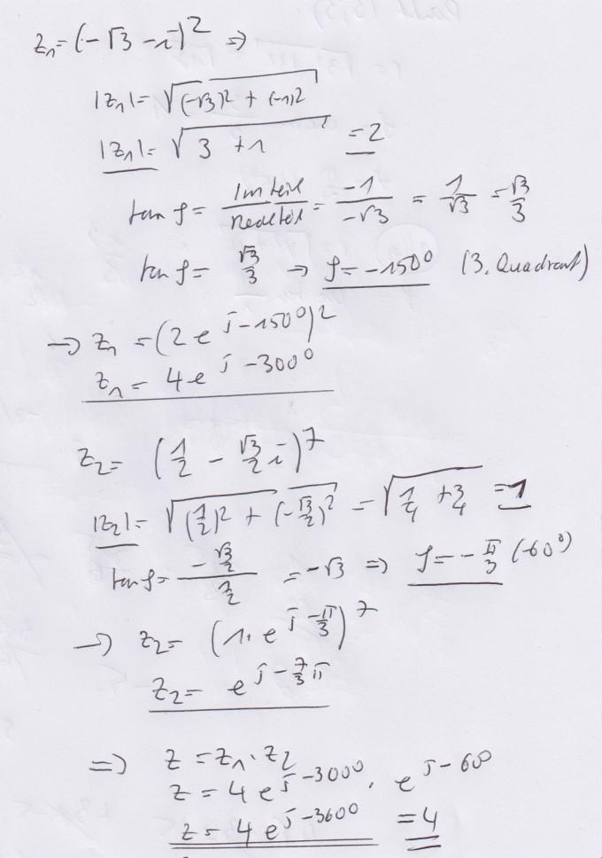Argument Berechnen : betrag r und argument phi berechnen mathelounge ~ Themetempest.com Abrechnung
