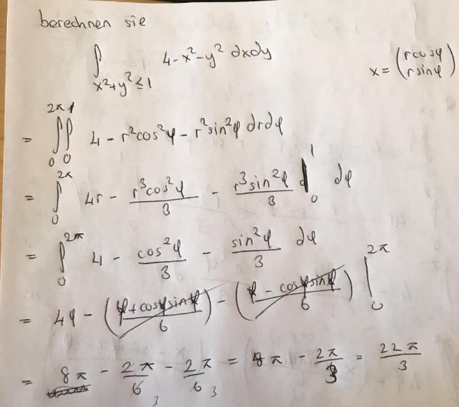 integral rechnen richtig integral von x 2 y 2 1 4 x 2. Black Bedroom Furniture Sets. Home Design Ideas