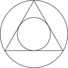 inkreis ein gleichseitiges dreieck hat einen inkreis mit dem radius 1 wie lang ist eine. Black Bedroom Furniture Sets. Home Design Ideas